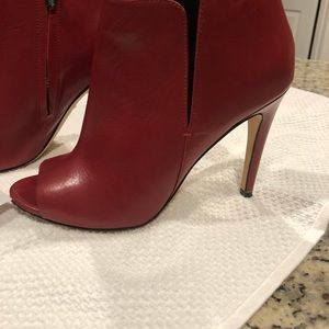 Sigerson Morrison Red Leather heels